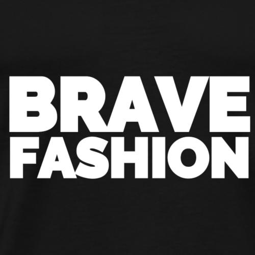 BraveFashion Branded (White) - Männer Premium T-Shirt