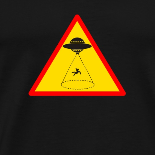 Attention enlèvement extraterrestre ! - T-shirt Premium Homme