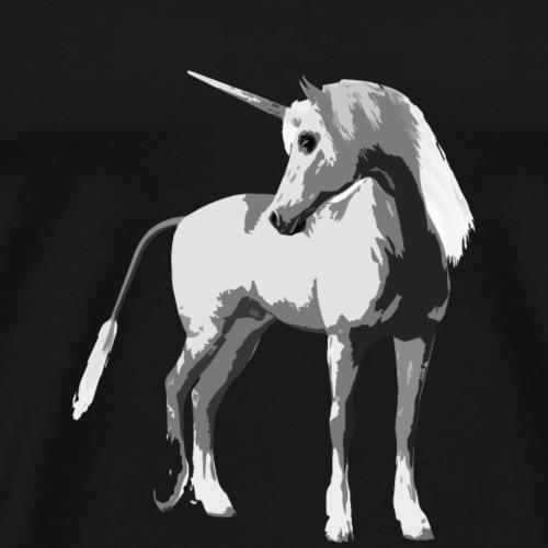 Echtes Einhorn - Männer Premium T-Shirt