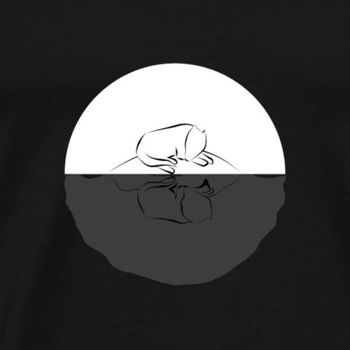 Reflection B W - Men's Premium T-Shirt