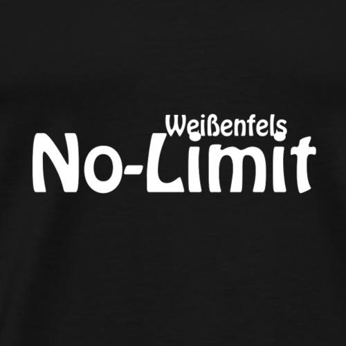 No limit Weissenfels Weiss - Männer Premium T-Shirt