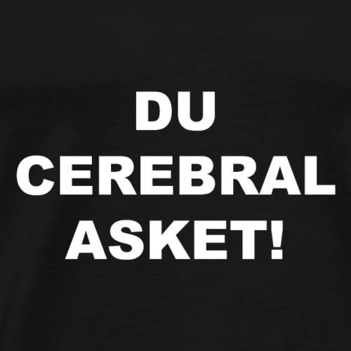 Cerebral Asket weiss - Männer Premium T-Shirt