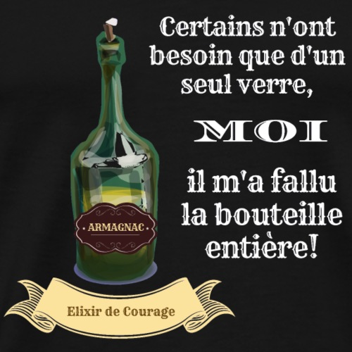 élixir de courage - T-shirt Premium Homme