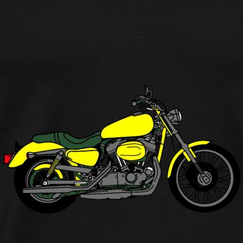 Motorrad Chopper Cruiser - Männer Premium T-Shirt