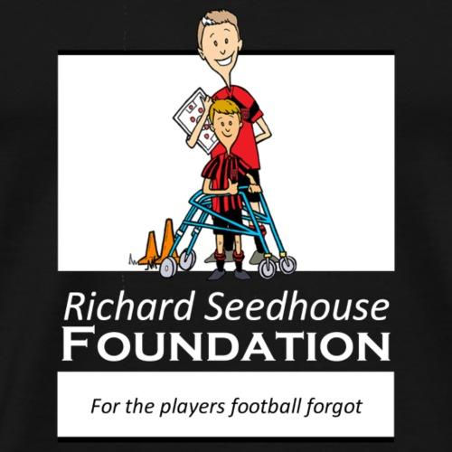 Richard Seedhouse Foundation (white) - Men's Premium T-Shirt