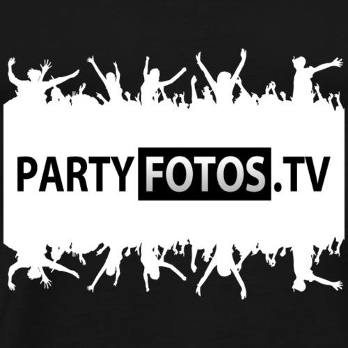 Tshrit Partyfotostv Weiss - Männer Premium T-Shirt