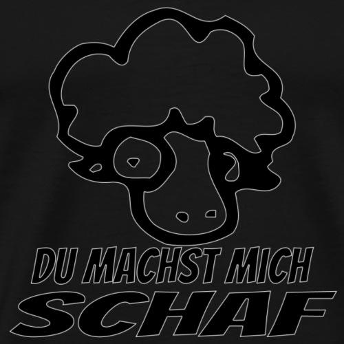 Du machst mich Schaf - Männer Premium T-Shirt