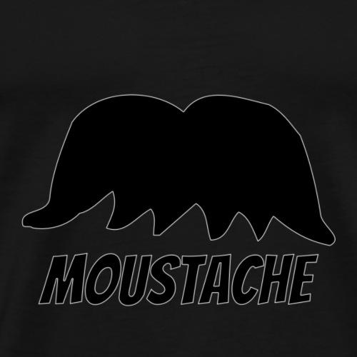 Moustache - Männer Premium T-Shirt