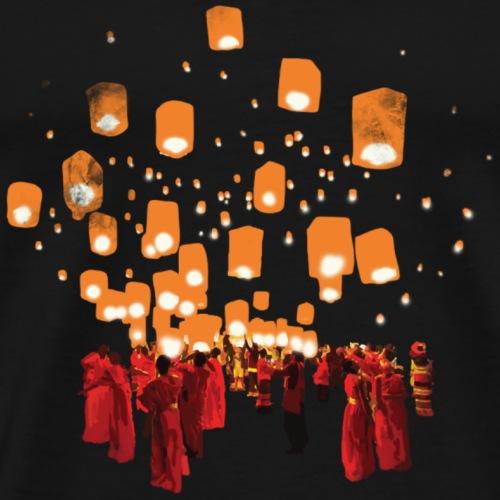 Loi Krathong - Männer Premium T-Shirt
