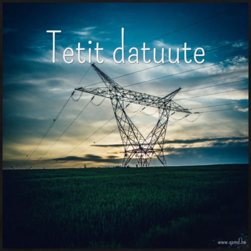 Tetit datuute - Mannen Premium T-shirt