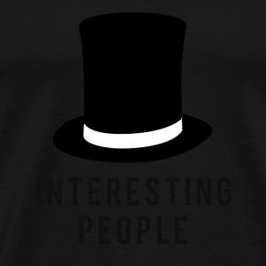 Interessante folk! - Premium T-skjorte for menn