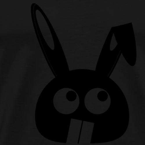 Puny Bunny - Flappy Ears - Miesten premium t-paita