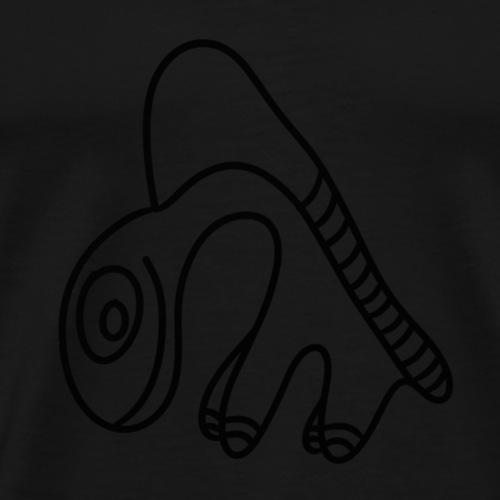 fun-animal-dino-worm - Men's Premium T-Shirt
