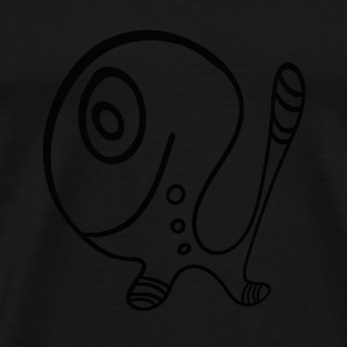 fun-animal-puppy-png - Men's Premium T-Shirt
