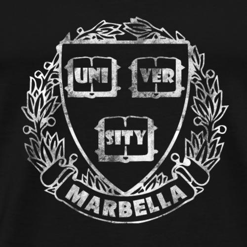 Vintage Marbella University - Men's Premium T-Shirt