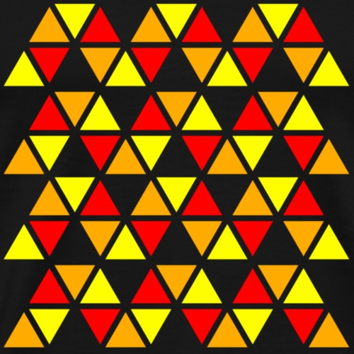 Zigzag pattern - Men's Premium T-Shirt