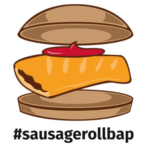 Sausage Roll Bap - Men's Premium T-Shirt