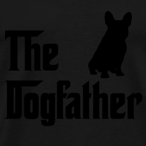 The Dogfather Schwarz - Männer Premium T-Shirt