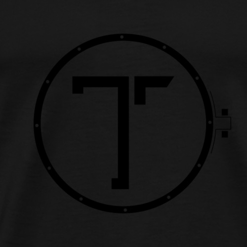 TK_Logo BLACK - Herre premium T-shirt