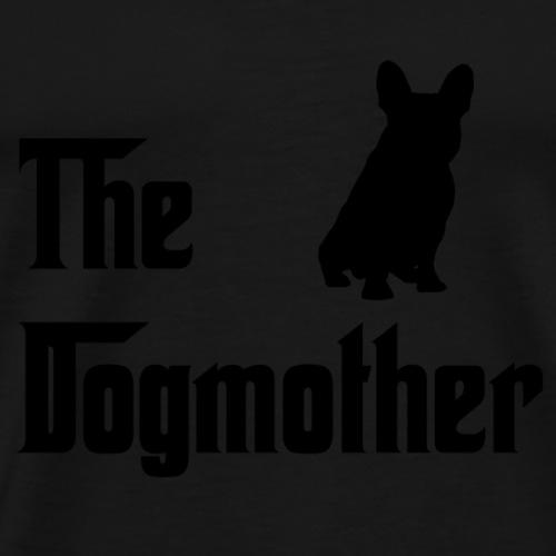 Dogmother-Schwarz - Männer Premium T-Shirt