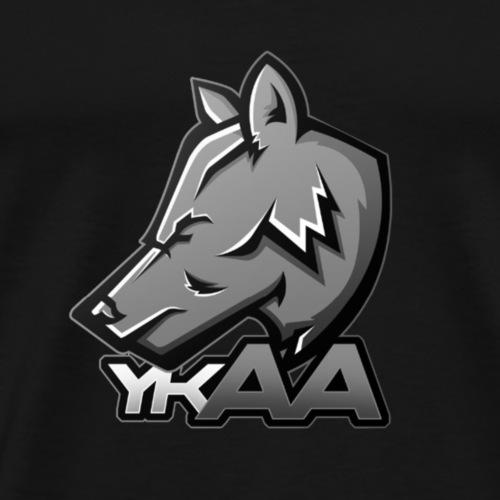 YKAA GRAU - Männer Premium T-Shirt