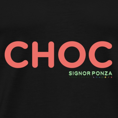 CHOC 2 - Maglietta Premium da uomo