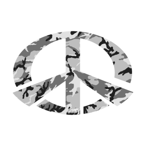Peace - Snow Camo Edition - Männer Premium T-Shirt