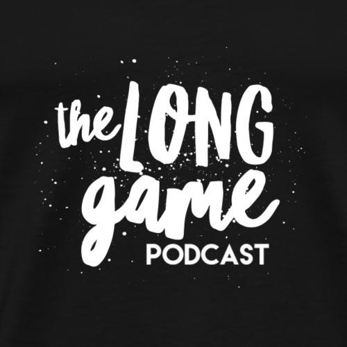 Long Game Podcast Logo design - Men's Premium T-Shirt