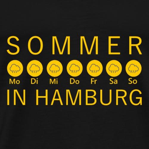 Sommer in Hamburg - Männer Premium T-Shirt