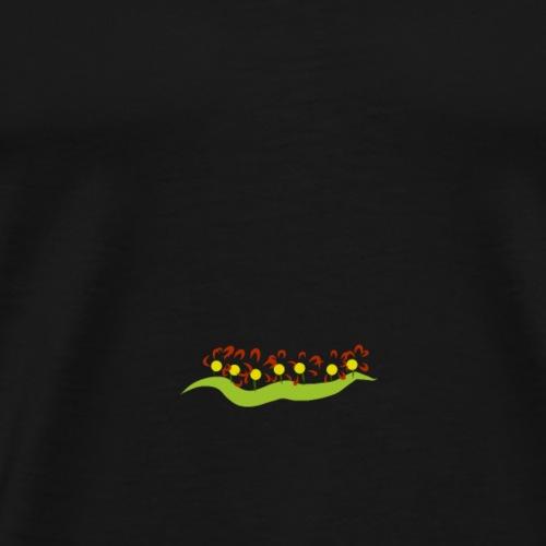 Blumenbeet - Männer Premium T-Shirt