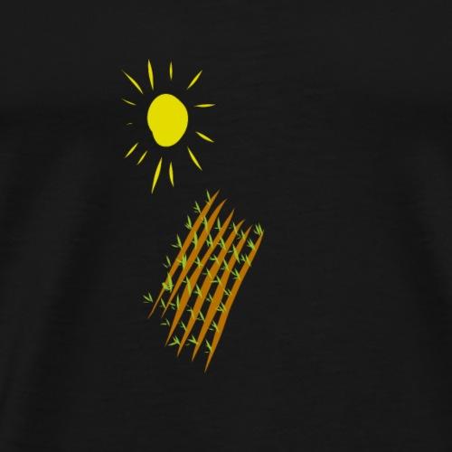 Feld - Männer Premium T-Shirt