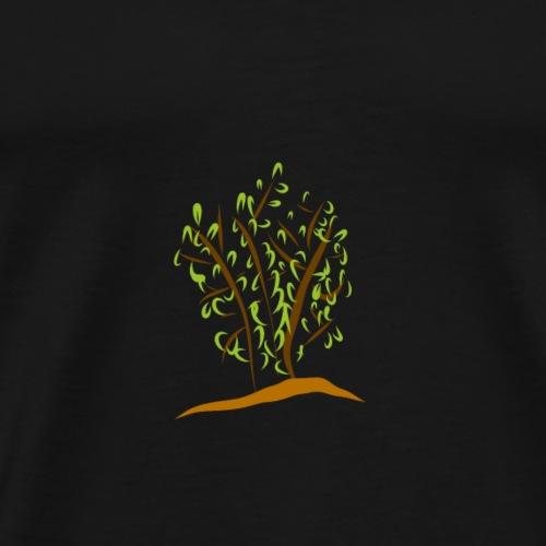 Strauch - Männer Premium T-Shirt