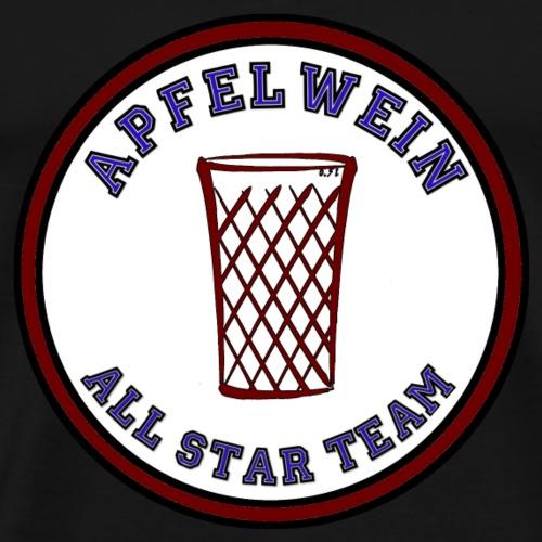 Apfelwein All Star Team - Männer Premium T-Shirt