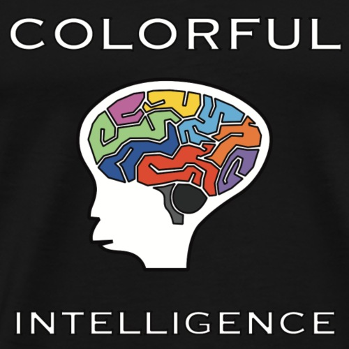 colorful intelligence - Männer Premium T-Shirt