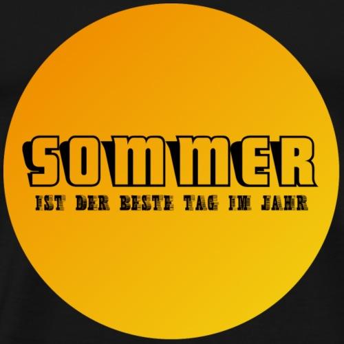 Sommer ist der beste Tag im Jahr 2 - Männer Premium T-Shirt