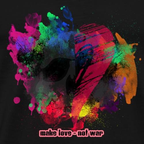 Make Love - Not War - Männer Premium T-Shirt