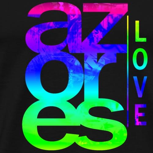 Azores Love - Männer Premium T-Shirt