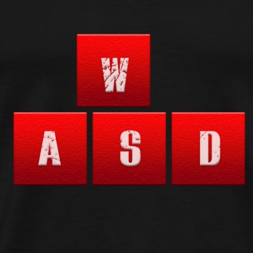 WASD is my Life - Männer Premium T-Shirt