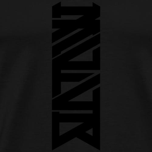 MVIVB LOGO 1 BLACK - Männer Premium T-Shirt