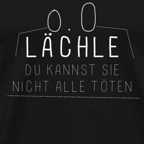 Lächeln! - Männer Premium T-Shirt
