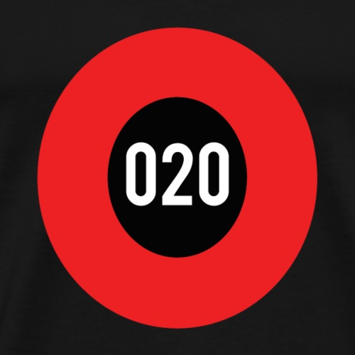 020 logo - Mannen Premium T-shirt