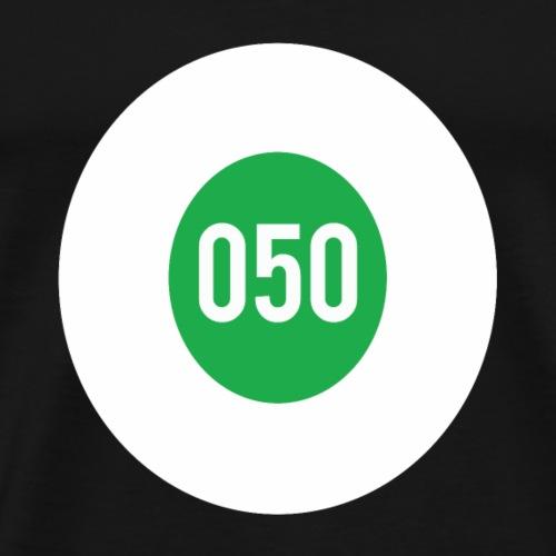 050 logo - Mannen Premium T-shirt
