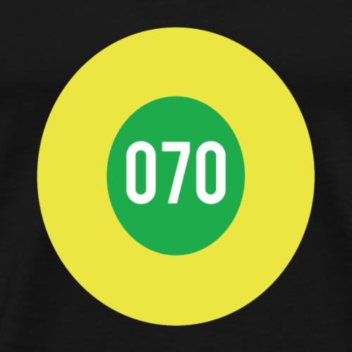 070 logo - Mannen Premium T-shirt