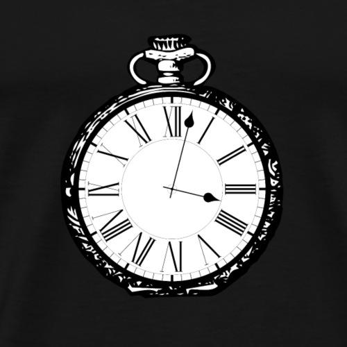 Alte Taschenuhr - Männer Premium T-Shirt