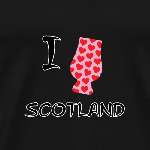 I Love Scotland - Glencairn - Men's Premium T-Shirt