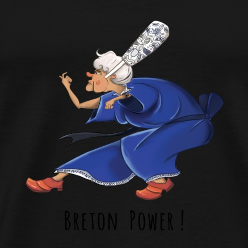 Breton power - T-shirt Premium Homme