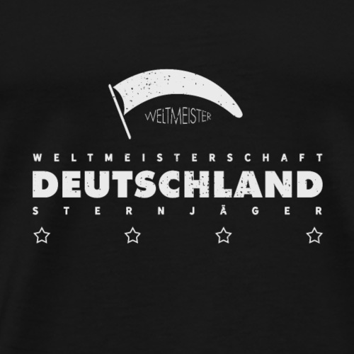 Weltmeister Deutschland Sternjäger Vintage - Männer Premium T-Shirt