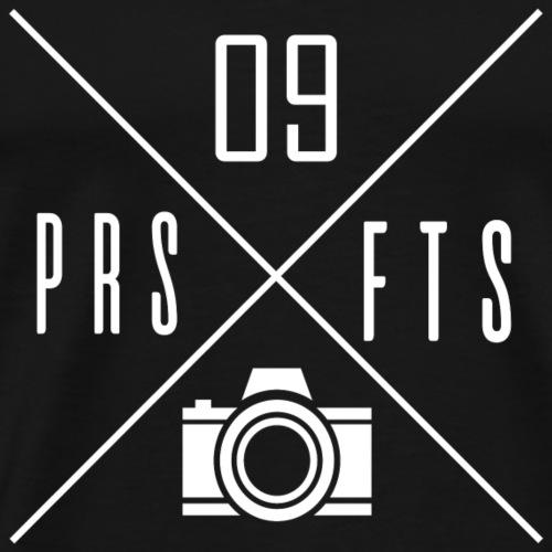 Cross weiss - Männer Premium T-Shirt