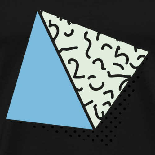 80s memphis design, Achtziger Jahre, Memphis - Männer Premium T-Shirt
