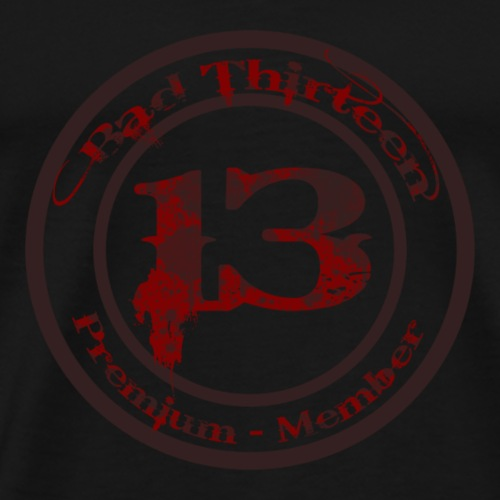 Logo Bad Thirteen - Männer Premium T-Shirt